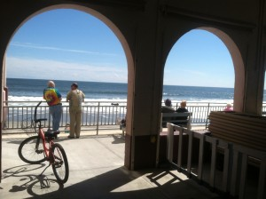 This is the view from Music Pier in Ocean City, N.J. A perfect place to write about music from the 1970s.