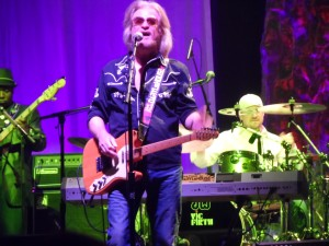 "Daryl Hall opened his new ""Daryl's House"" - a music venue and restaurant in Pawling, N.Y. - on Halloween night. He was joined by longtime bandmate John Oates for a concert that was streamed online. (Photo by Mike Morsch)"