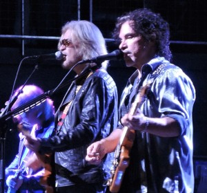 Philly's own Daryl Hall and John Oates played the first show at the new Philadelphia Fillmore on Oct. 1, 2015. (Photo by Mike Morsch)