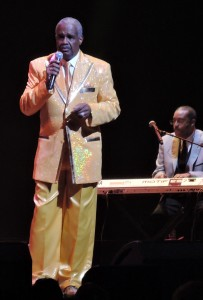 Russell Tompkins Jr., the original lead singer of The Stylistics. (Photo by Mike Morsch)