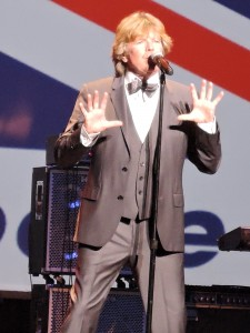 Peter Noone, original lead singer of Herman's Hermits. (Photo by Mike Morsch)