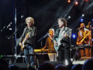 Daryl Hall and John Oates headlines the inaugural Hoagie Nation Festival May 27, 2017, in their hometown of Philadelphia. (Photo by Mike Morsch)