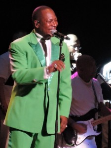 Eric Nolan Grant joined The O'Jays in 1995. (Photo by Mike Morsch)