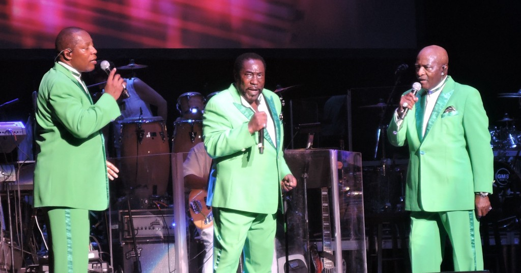 Still riding the 'Love Train' with The O'Jays