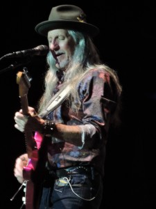 "Doobies guitarist and lead singer Pat Simmons performs ""Busted Down Around O'Connelly Corners"" from the 1973 ""The Captain and Me"" album. (Photo by Mike Morsch)"
