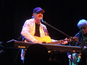 John Ford Coley, one half of the 1970s duo England Dan & John Ford Coley, performed Feb. 22, 2019, at the Sellersville Theatre 1894 in Sellersville, PA. (Photo by Mike Morsch)