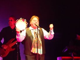 Eddie Brigati said the language and lyrics of the songwriting collaboration between himself and Felix Cavaliere was upbeat and positive. (Photo by Mike Morsch)
