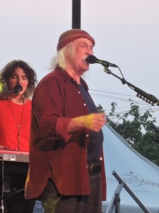 David Crosby has been indicted into the Rock and Roll Hall of Fame as a member of two bands — The Byrds and Crosby, Still & Nash. (Photo by Mike Morsch)