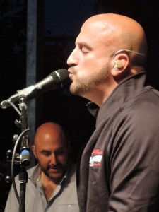 "Mike DelGuidice included one of his songs, ""Mona Lisa,"" in the setlist for this show. (Photo by Mike Morsch)"
