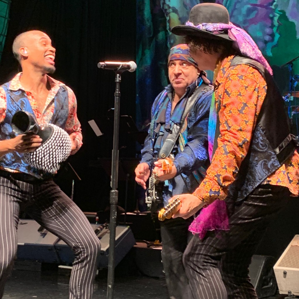 The Disciples of Soul having some fun at the Keswick Theatre in Glenside, PA. (Photo by Mike Morsch)