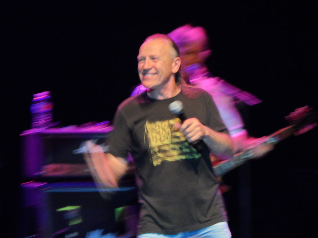 Mark Farner, former lead singer, guitarist and songwriter for Grand Funk Railroad, is still rockin' on the 2014 Happy together tour.