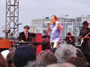 Southside Johnny rocks the summer stage.