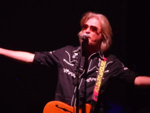 "Daryl Hall, along with John Oates, wrote the classic H&O song ""Sara Smile."""