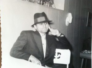 My dad, Edward E. Morsch, circa 1956 or so, looking much more like a mob boss than an elementary school superintendent.