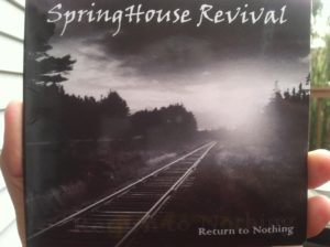 """The debut album from Springhouse Revival is called """"Return to Nothing."""" (Photo by Mike Morsch)"""