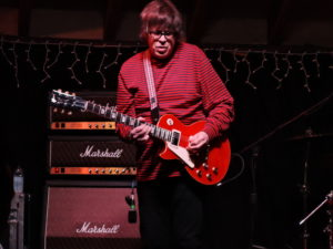 Elliot Easton, formerly of The Cars, plays lead guitar for The Empty Hearts Dec. 3 in New Hope, PA. (Photo by Mike Morsch)