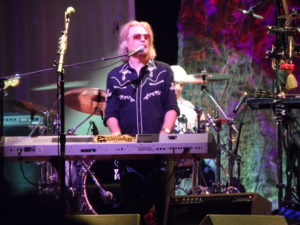 Daryl Hall takes to the keyboards during a Hall & Oates show at the Borgata Hotel in Atlantic City in 2013. (Photo by Mike Morsch)