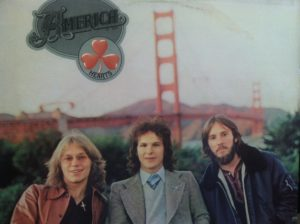 "This is a photo of the cover of ""Hearts,"" a 1975 album by the band America. (Photo by Mike Morsch)"