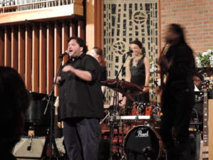 """Philadelphia singer-songwriter Mutlu was part of an """"All-Star Tribute to Marvin Gaye"""" on March 28, 2015, in Ewing, N.J. (Photo by Mike Morsch)"""