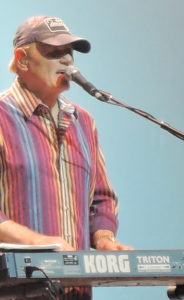 Bruce Johnston of the Beach Boys performs at the Borgata in Atlantic City. (Photo by Mike Morsch)