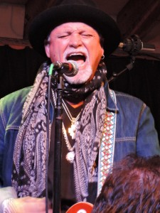 Derek St. Holmes rocks out during the Whitford St. Holmes show Nov. 22 at Havana in New Hope, PA. (Photo by Mike Morsch)