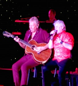Graham Russell, left, and Russell Hitchcock of Air Supply performed Feb. 27, 2016, at Resorts Hotel and Casino in Atlantic City, N.J. (Photo by Kiley Shetler)