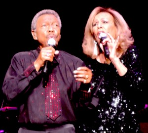 Billy Davis Jr. and Marilyn McCoo performed all their hits June 11 at the Tropicana in Atlantic City. (Photo by Mike Morsch)