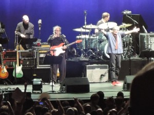 "Steely Dan, with Walter Becker, left, and Donald Fagen, performed ""The Dan Who Knew Too Much Tour 2016"" July 3 at the BB&T Pavilion in Camden, N.J. (Photo by Mike Morsch)"
