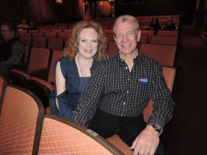 Gail Farrell and he husband Ron Anderson, stars of the Lawrence Welk Show. (Photo by Mike Morsch)