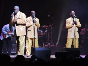 Russell Thompkins Jr. and The New Stylistics performed at the Festival of Soul. (Photo by Mike Morsch)