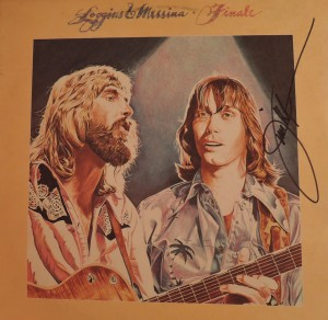 "A signed copy of the 1977 Loggins and Messina album ""Finale."" (Photo by Mike Morsch)"