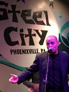 "J. D Malone and The Experts debuted the song ""Blue Impala"" May 6, 2017, at Steel City in Phoenixville, PA. (Photo by Mike Morsch)"