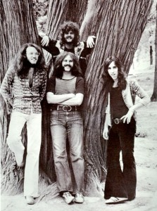 The original members of Looking Glass: Elliot Lurie, far right, Jeff Grob, Larry Gonsky and Pieter Sweval as they looked in the early 1970s. (Photo courtesy of Elliot Lurie)
