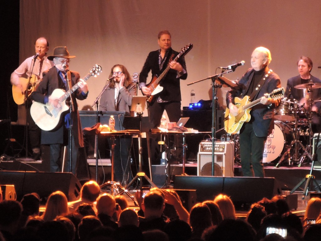 "Mike Nesmith and Micky Dolenz of The Monkees have surrounded themselves with a fabulous group of musicians for ""The Mike and Micky"" shows. (Photo by Mike Morsch)"