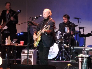 "Mike Nesmith of The Monkees was in fine voice  at ""The Mike and Micky Show"" at the Keswick Theatre. (Photo by Mike Morsch)"