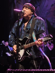 Little Steven and the Disciples of Soul performed a rockin' two-and-a-half-hour set Saturday night. (Photo bu Mike Morsch)
