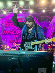 "Stevie Van Zandt — along with Bruce Springsteen and Southside Johnny Lyon — were instrumental in the development of the ""Jersey Shore sound."" (Photo by Mike Morsch)"