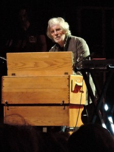 Rod Argent, original keyboardist and vocalist for The Zombies. (Photo by Mike Morsch)